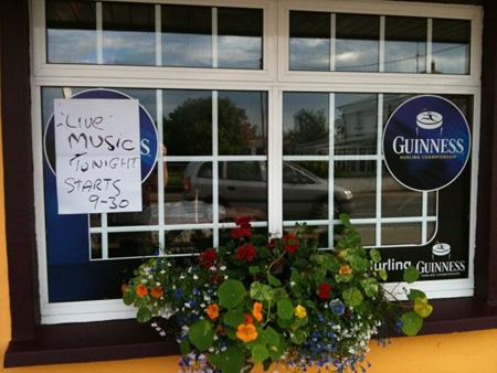 Das Kilrane Inn hat sogar Werbung für uns gemacht.