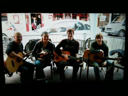 Gig auf dem Folkfestival in Kenmare